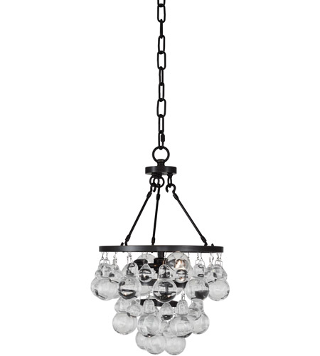 Robert Abbey Z1006 Bling 2 Light 10 inch Deep Patina Bronze Pendant Ceiling Light photo