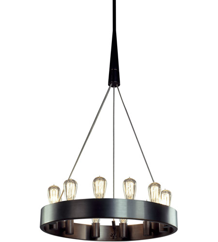 Robert Abbey Z2090 Rico Espinet Candelaria 12 Light 15 inch Deep Patina Bronze Chandelier Ceiling Light photo thumbnail