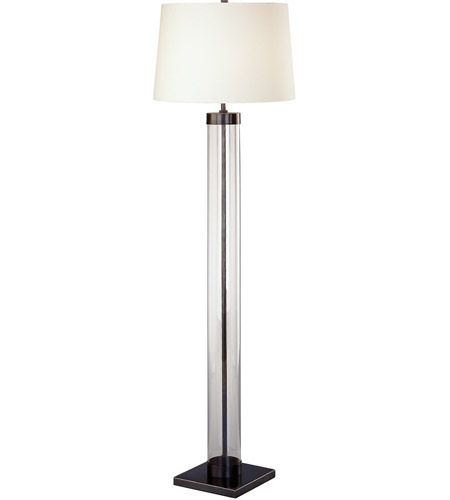 Robert Abbey Z3320 Andre 63 inch 150 watt Deep Patina Bronze Floor Lamp Portable Light