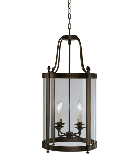 Robert Abbey Z3361 Blake 4 Light 15 inch Deep Patina Bronze Pendant Ceiling Light