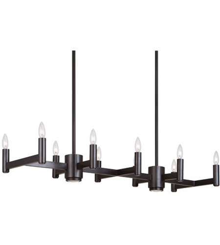 Robert Abbey Z4501 Delany 12 Light 41 inch Deep Patina Bronze Chandelier Ceiling Light