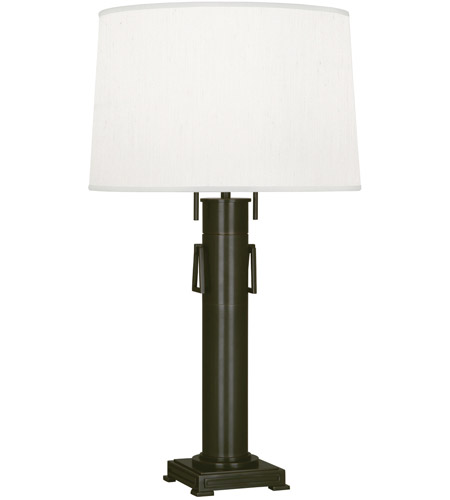Robert Abbey Z525 Athena 31 inch 100 watt Deep Patina Bronze Table Lamp Portable Light