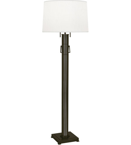 Robert Abbey Z526 Athena 62 inch 100 watt Deep Patina Bronze Floor Lamp Portable Light