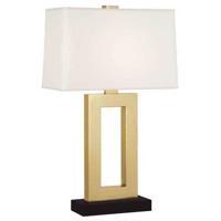 Robert Abbey 103XBN Doughnut 30 inch 150 watt Natural Brass Table Lamp Portable Light