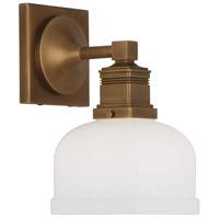 Robert Abbey 1326 Taylor 1 Light 5 inch Aged Brass Wall Sconce Wall Light