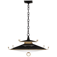 Robert Abbey 150 Williamsburg Spotswood LED 21 inch Deep Patina Bronze / Modern Brass Pendant Ceiling Light