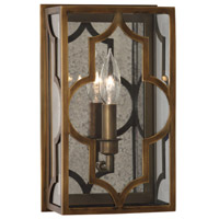 Robert Abbey 1572 Addison 1 Light 7 inch Weathered Brass Wall Sconce Wall Light thumb
