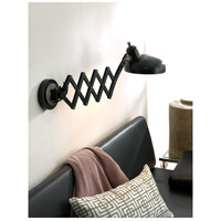 Robert Abbey 1849 Bruno 37 inch 60 watt Lead Bronze with Ebonized Nickel Wall Swinger Wall Light 1849_51246.jpg thumb