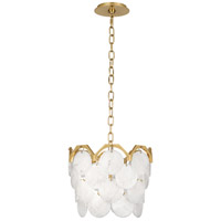 Robert Abbey 1895 Hope 4 Light 14 inch Modern Brass Pendant Ceiling Light
