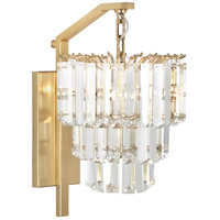 Robert Abbey 1915 Spectrum 2 Light 10 inch Modern Brass Wall Sconce Wall Light