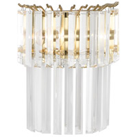 Robert Abbey 1916 Spectrum 2 Light 11 inch Modern Brass Wall Sconce Wall Light