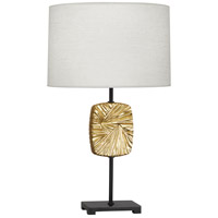 Robert Abbey 2015 Michael Berman Alberto 27 inch 150 watt Modern Brass with Deep Patina Bronze Table Lamp Portable Light