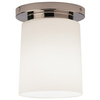 Robert Abbey 2058 Rico Espinet Nina 1 Light 15 inch Polished Nickel Flushmount Ceiling Light