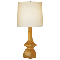 Jayne 31 inch 150 watt Pumpkin Table Lamp Portable Light in Light Beige Linen