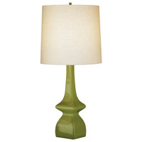 Jayne 31 inch 150 watt Artichoke Table Lamp Portable Light in Light Beige Linen