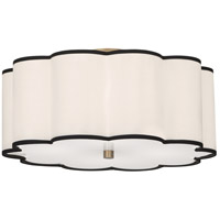Robert Abbey 2200 Axis 4 Light 20 inch Aged Brass Flushmount Ceiling Light