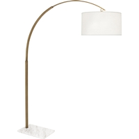 Robert Abbey 2286 Archer 81 inch 150 watt Warm Brass Floor Lamp Portable Light