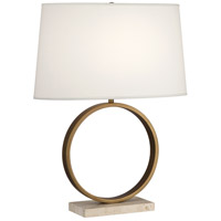 Robert Abbey 2295 Logan 25 inch 150 watt Aged Brass Table Lamp Portable Light in Fondine