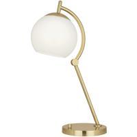Robert Abbey 232 Nova 24 inch 100 watt Modern Brass Table Lamp Portable Light