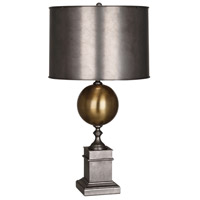 Mary McDonald Regine 32 inch 150 watt Patina Nickel Table Lamp Portable Light