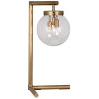 Robert Abbey 2430 Zoltar 22 inch 25 watt Antique Brass Table Lamp Portable Light