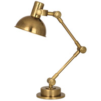 Robert Abbey 246 Rico Espinet Scout 22 inch 60 watt Antique Brass Table Lamp Portable Light