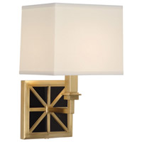 Robert Abbey Directoire 1 Light Wall Sconce in Rabn 2554