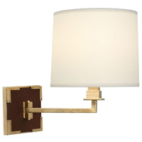 Mary McDonald Spence 13 inch 100 watt Natural Brass Swing Lamp Wall Light