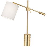 Robert Abbey 291 Campbell 27 inch 100 watt Modern Brass Table Lamp Portable Light