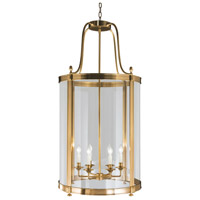 Robert Abbey 3362 Blake 6 Light 23 inch Antique Brass Pendant Ceiling Light thumb