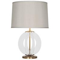 Robert Abbey 3377 Latitude 30 inch 150 watt Aged Brass Table Lamp Portable Light