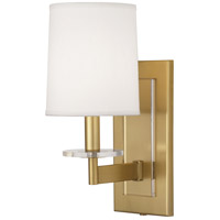 Robert Abbey 3381 Alice 1 Light 6 inch Antique Brass with Lucite Wall Sconce Wall Light