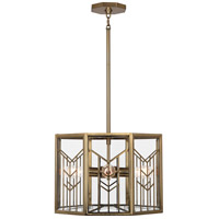 Robert Abbey 3385 Octavius 4 Light 18 inch Modern Brass Pendant Ceiling Light