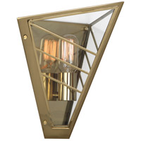Robert Abbey 3387 Octavius 1 Light 11 inch Modern Brass Wall Sconce Wall Light