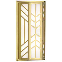 Octavius 2 Light 8 inch Modern Brass Wall Sconce Wall Light