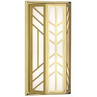 Robert Abbey 3388 Octavius 2 Light 8 inch Modern Brass Wall Sconce Wall Light