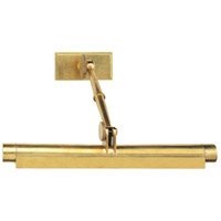 Robert Abbey 407 Meilleur 2 Light 18 inch Natural Brass Wall Sconce Wall Light