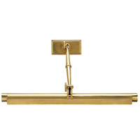 Robert Abbey 412 Meilleur 4 Light 24 inch Natural Brass Wall Sconce Wall Light