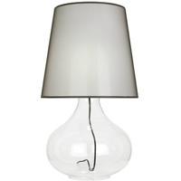 Robert Abbey 459B June 31 inch 150 watt Clear Glass Body Table Lamp Portable Light