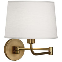 Robert Abbey 464 Koleman 1 Light 5 inch Aged Brass Wall Sconce Wall Light
