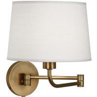 Robert Abbey 464 Koleman 11 inch 100 watt Aged Brass Wall Swinger Wall Light