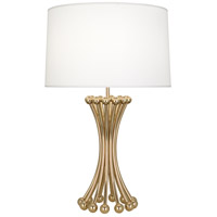 Robert Abbey 475 Jonathan Adler Biarritz 30 inch 150 watt Polished Brass Table Lamp Portable Light