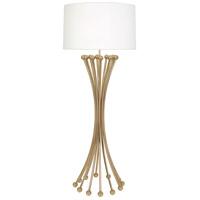 Robert Abbey 476 Jonathan Adler Biarritz 61 inch 150 watt Polished Brass Floor Lamp Portable Light