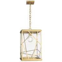 Robert Abbey 537 Michael Berman Bond 1 Light 12 inch Modern Brass Pendant Ceiling Light