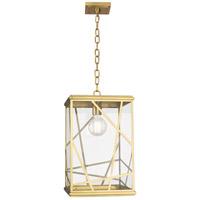Robert Abbey 537 Michael Berman Bond 1 Light 12 inch Modern Brass Pendant Ceiling Light