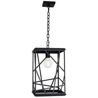 Robert Abbey 549 Michael Berman Bond 1 Light 12 inch Painted Black Pendant Ceiling Light