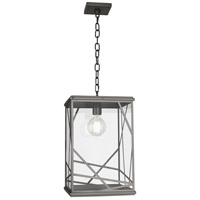 Michael Berman Bond 1 Light 12 inch Blackened Nickel Pendant Ceiling Light