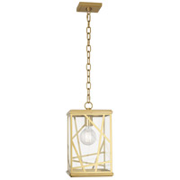 Robert Abbey 559 Michael Berman Bond 1 Light 9 inch Modern Brass Pendant Ceiling Light