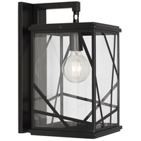 Robert Abbey 564 Michael Berman Bond 1 Light 9 inch Black Powder Coat Wall Sconce Wall Light