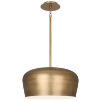 Robert Abbey 610 Rico Espinet Bumper 1 Light 18 inch Warm Brass Pendant Ceiling Light